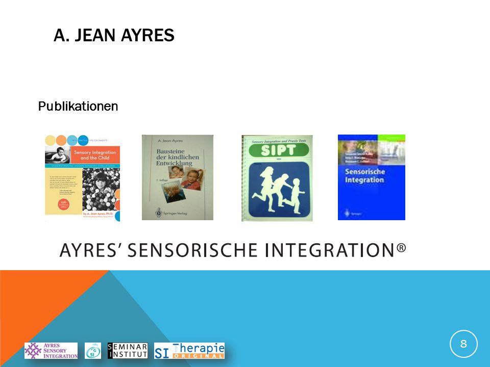 A. Jean Ayres Publikationen