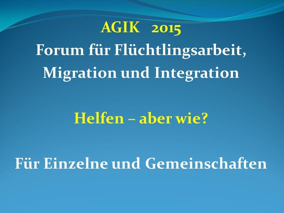 Forum für Flüchtlingsarbeit, Migration und Integration