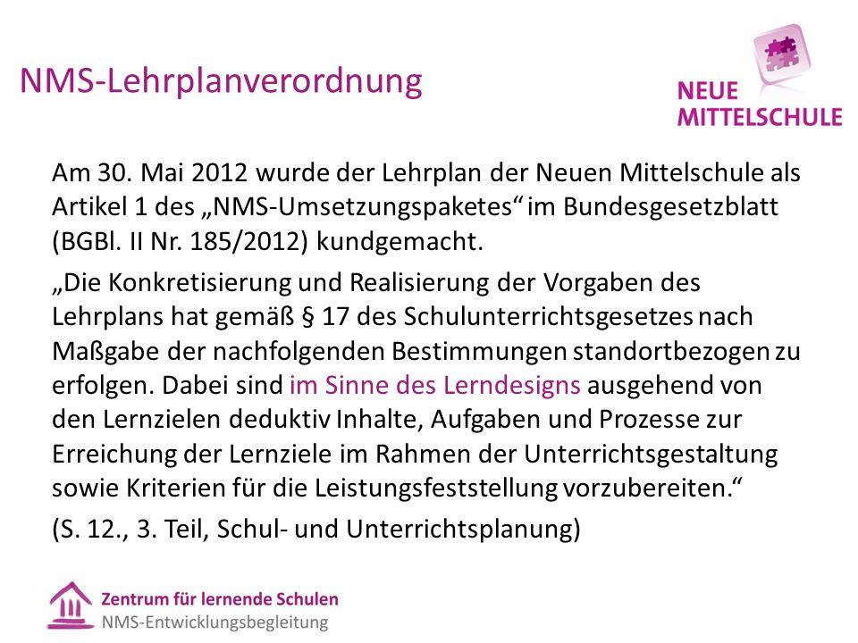 NMS-Lehrplanverordnung