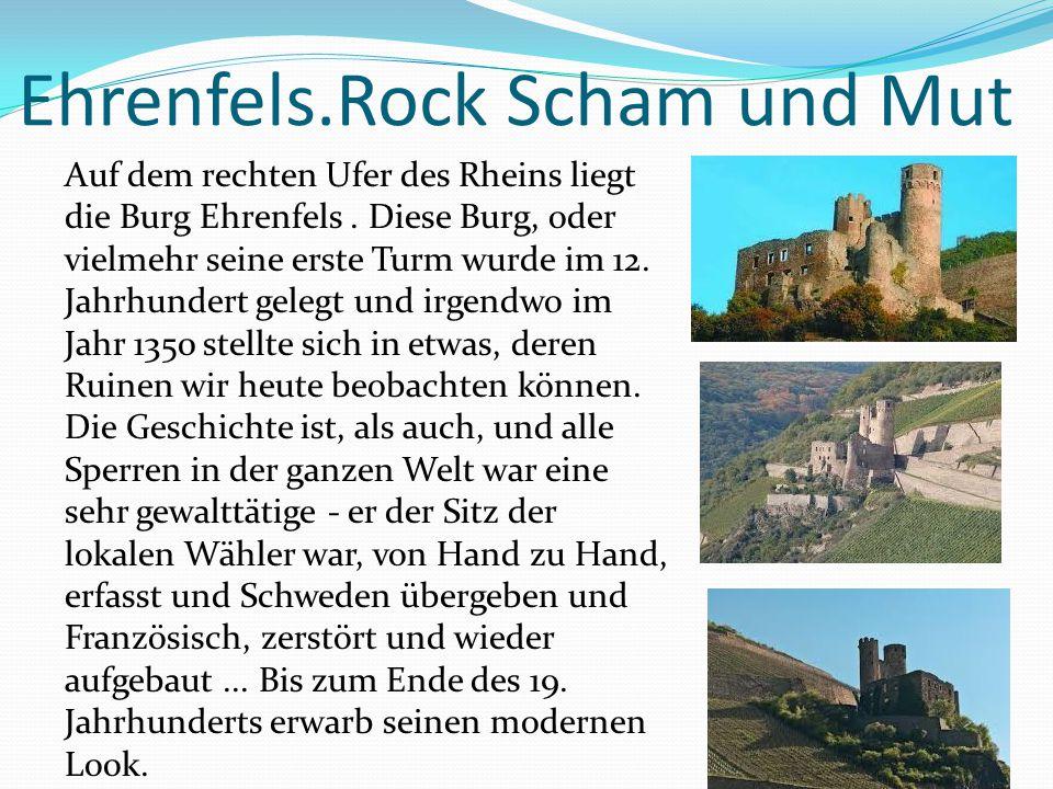 Ehrenfels.Rock Scham und Mut