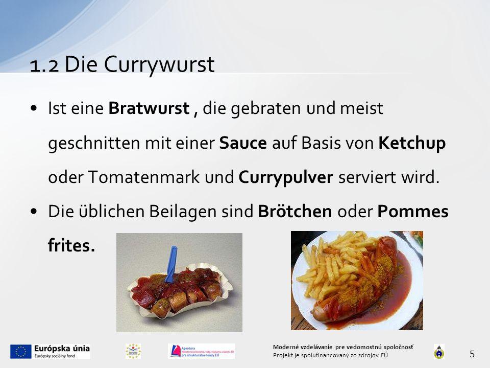 1.2 Die Currywurst