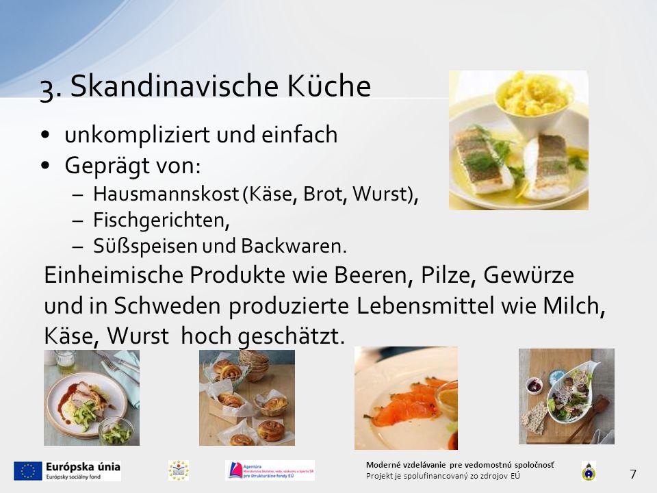 3. Skandinavische Küche unkompliziert und einfach Geprägt von: