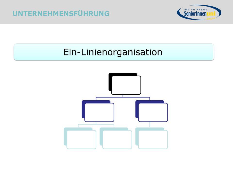 Ein-Linienorganisation