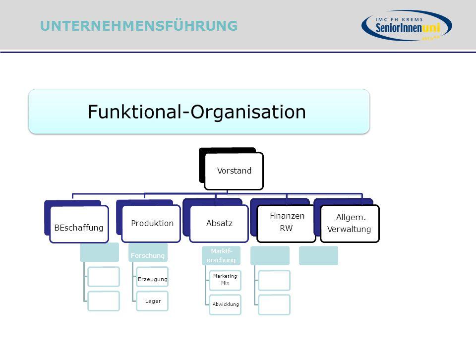 Funktional-Organisation