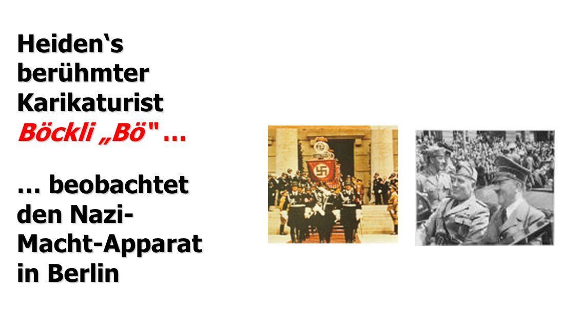 "Heiden's berühmter Karikaturist Böckli ""Bö …"