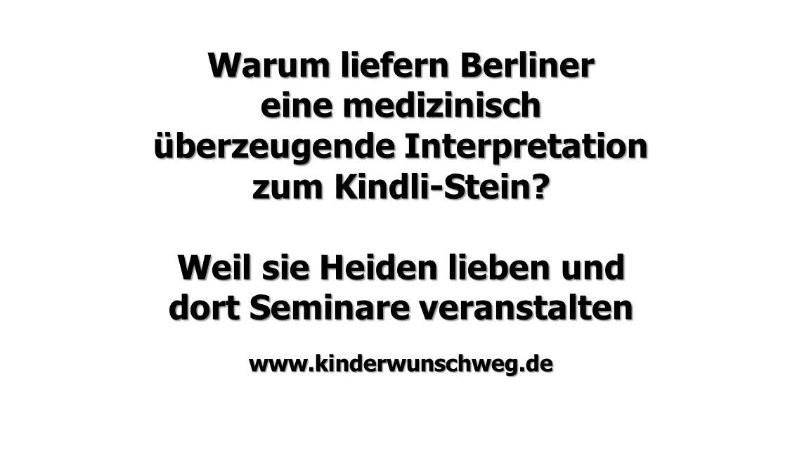 Warum liefern Berliner