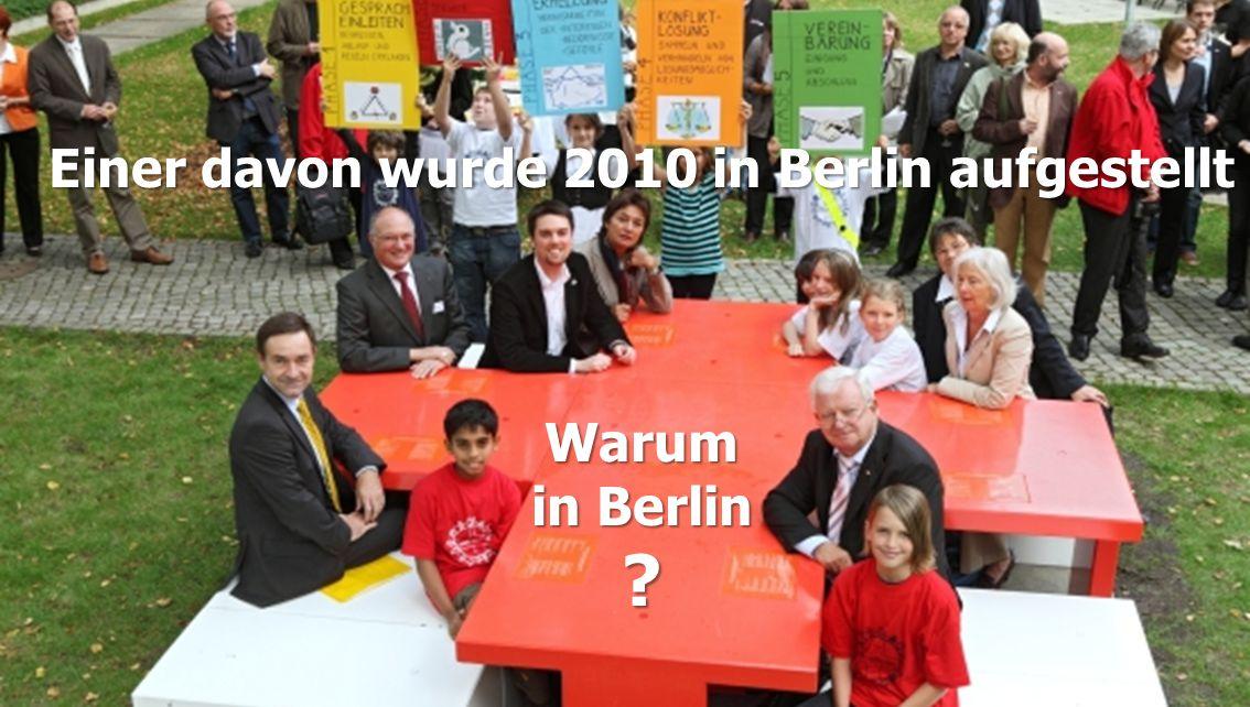 Einer davon wurde 2010 in Berlin aufgestellt