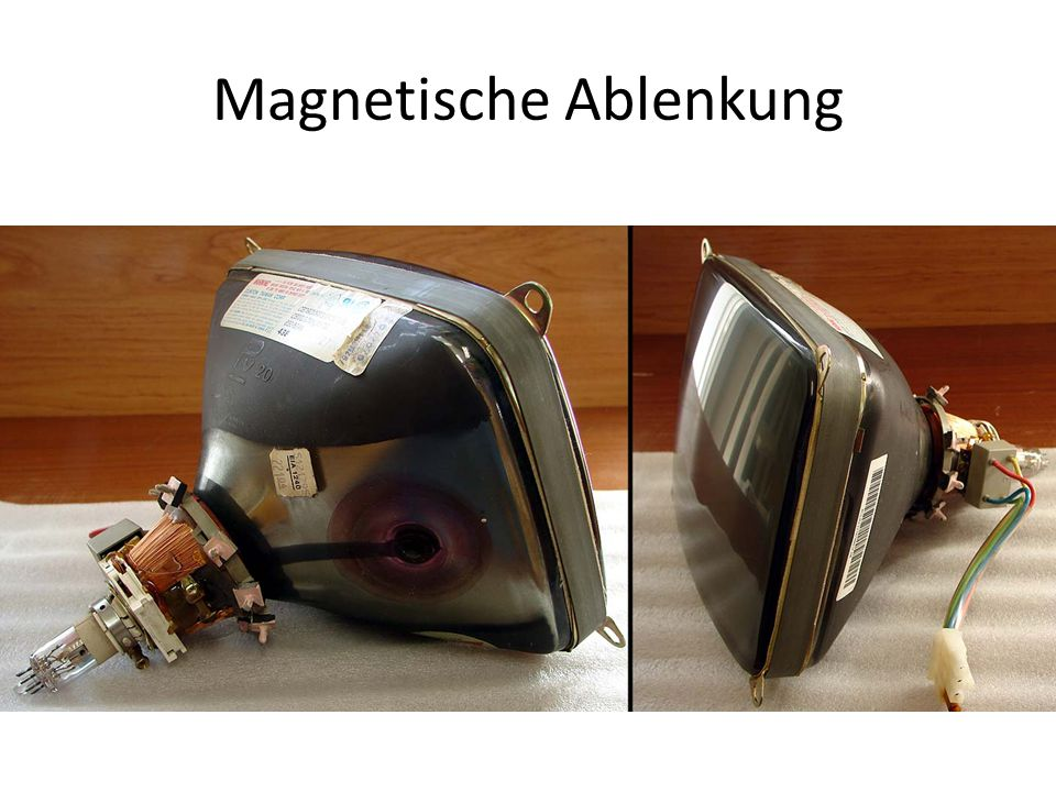 Magnetische Ablenkung