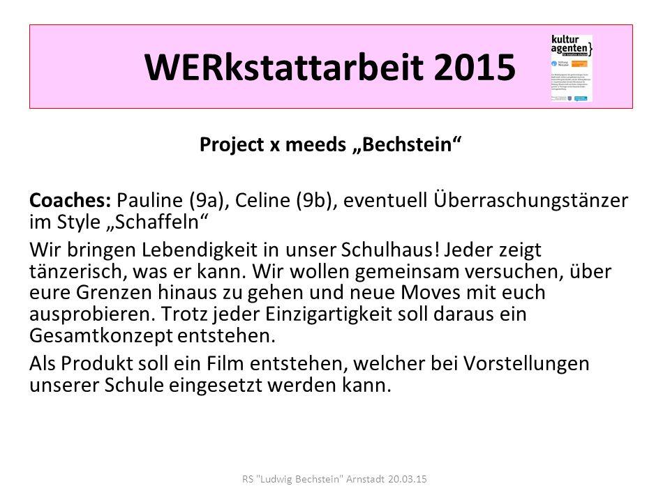 """Project x meeds """"Bechstein"""
