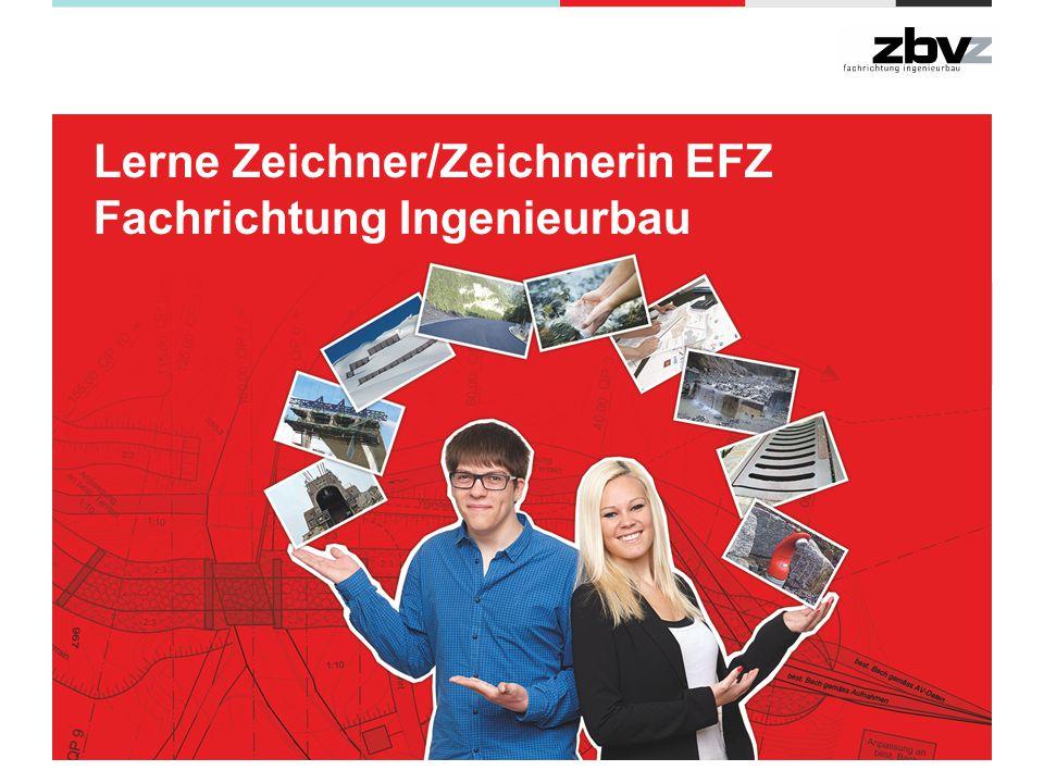 Lerne Zeichner/Zeichnerin EFZ Fachrichtung Ingenieurbau