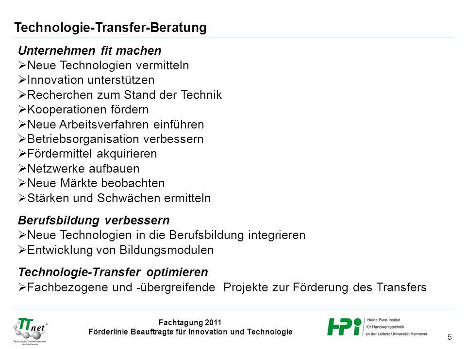 Technologie-Transfer-Beratung
