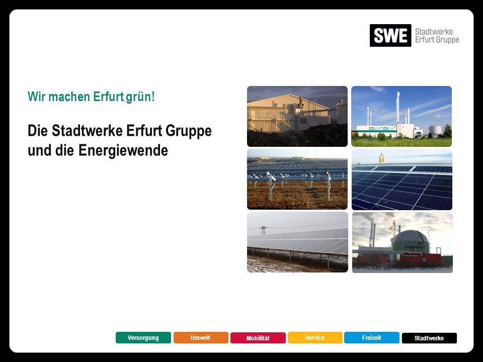 Die Stadtwerke Erfurt Gruppe und die Energiewende