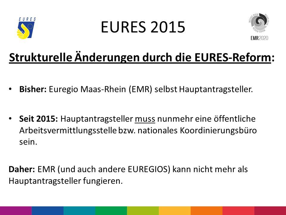 Strukturelle Änderungen durch die EURES-Reform: