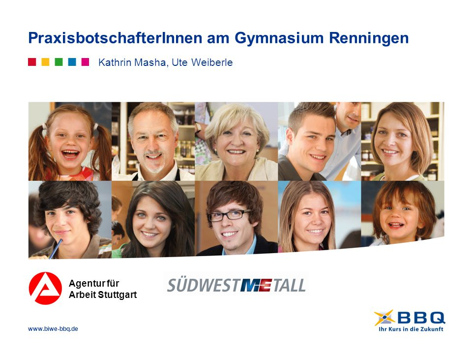 PraxisbotschafterInnen am Gymnasium Renningen