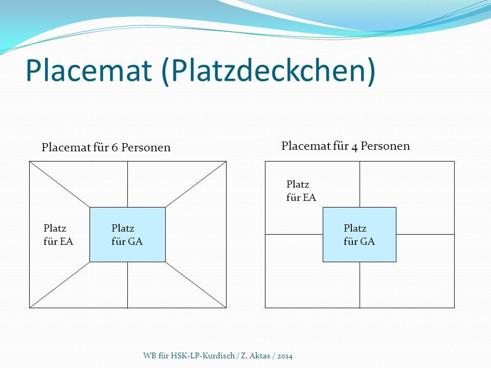 Placemat (Platzdeckchen)
