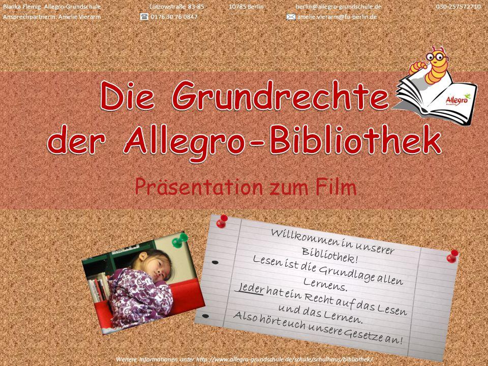 Die Grundrechte der Allegro-Bibliothek