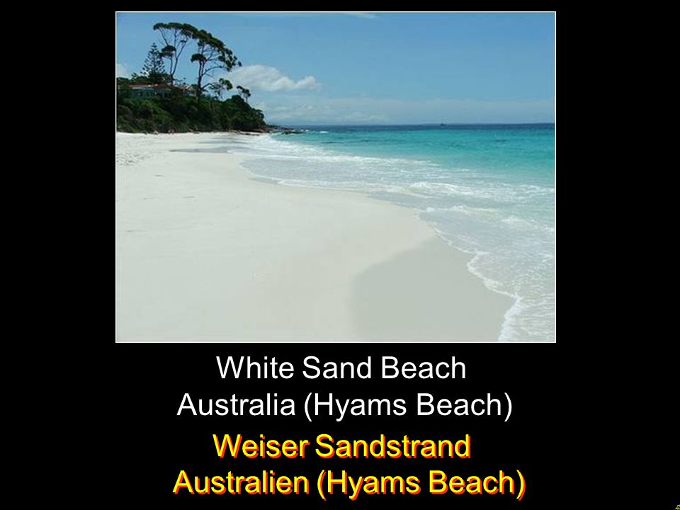 Australia (Hyams Beach)