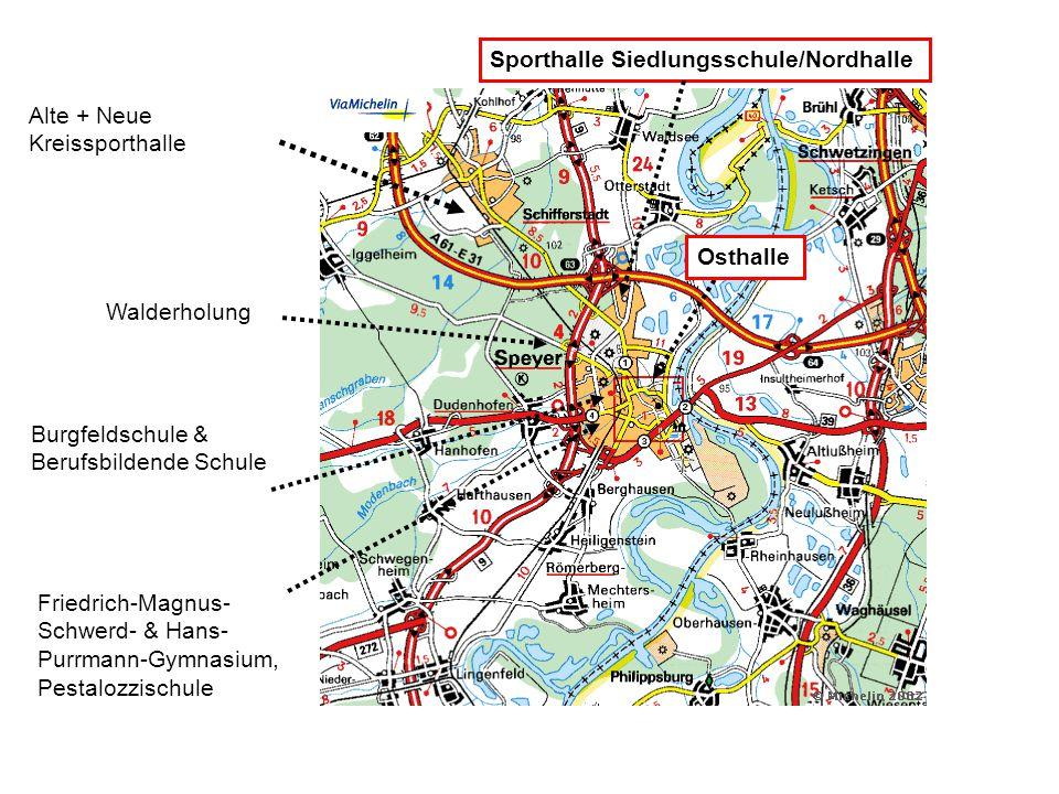 Sporthalle Siedlungsschule/Nordhalle