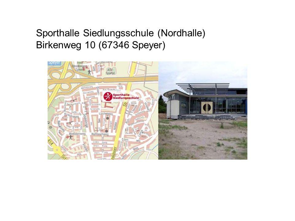 Sporthalle Siedlungsschule (Nordhalle)