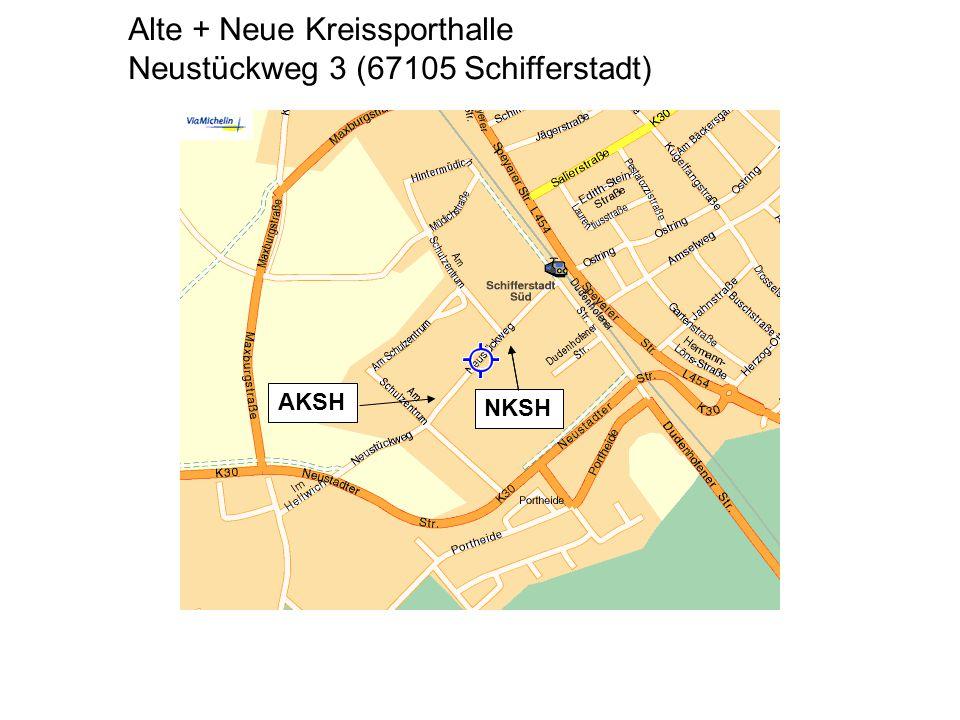 Alte + Neue Kreissporthalle Neustückweg 3 (67105 Schifferstadt)