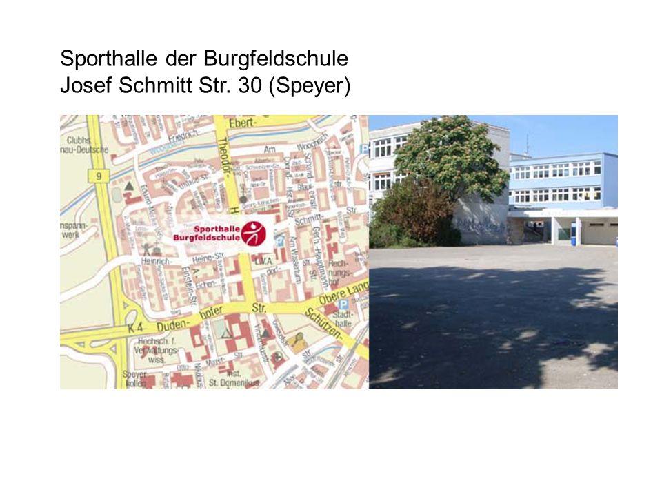 Sporthalle der Burgfeldschule