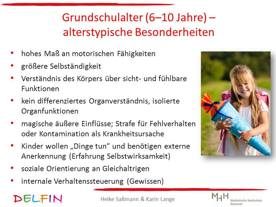 Grundschulalter (6–10 Jahre) – alterstypische Besonderheiten