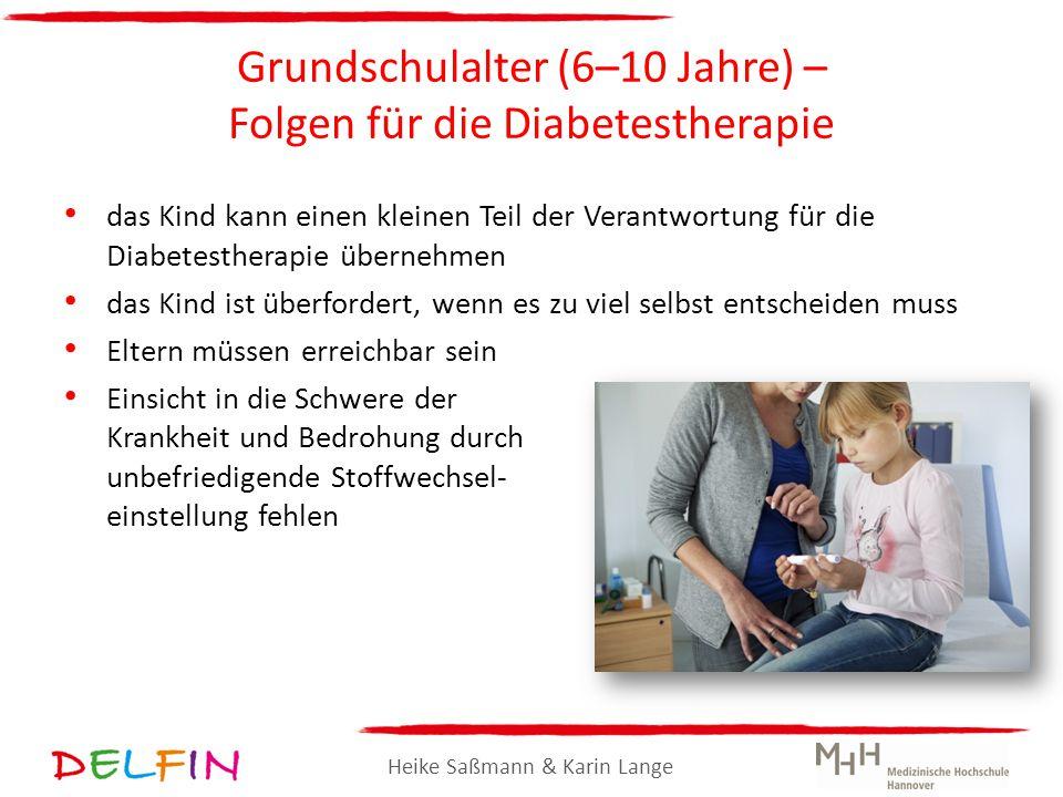 Grundschulalter (6–10 Jahre) – Folgen für die Diabetestherapie