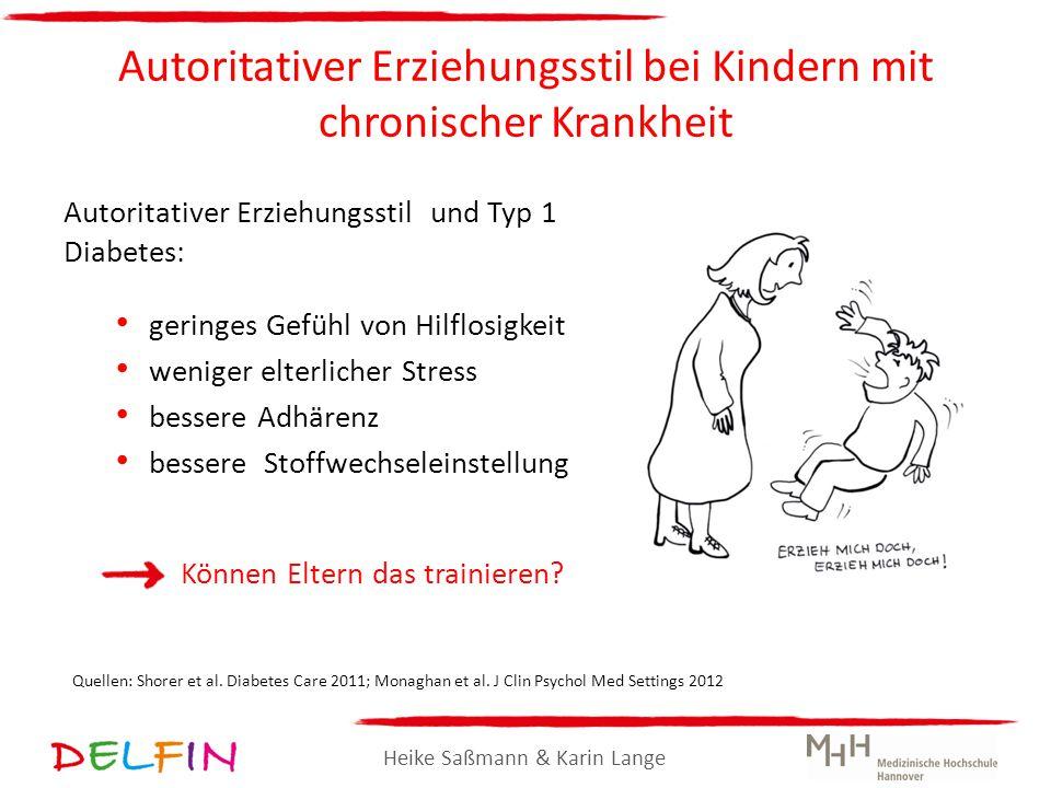 Autoritativer Erziehungsstil bei Kindern mit chronischer Krankheit