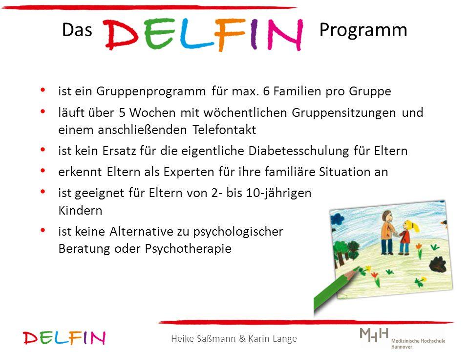 Das Programm ist ein Gruppenprogramm für max. 6 Familien pro Gruppe