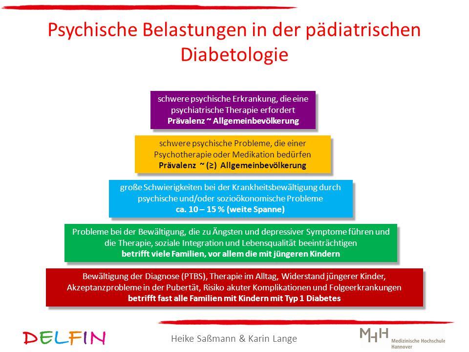Psychische Belastungen in der pädiatrischen Diabetologie