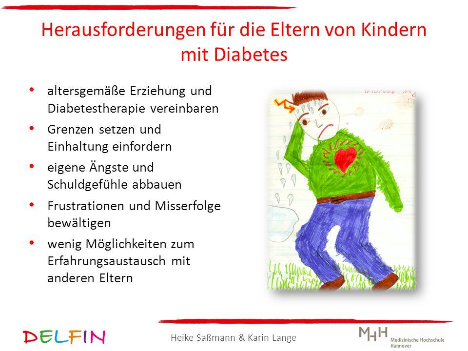 Herausforderungen für die Eltern von Kindern mit Diabetes