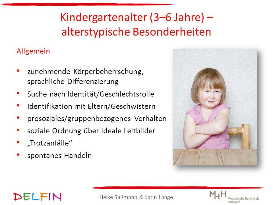 Kindergartenalter (3–6 Jahre) – alterstypische Besonderheiten