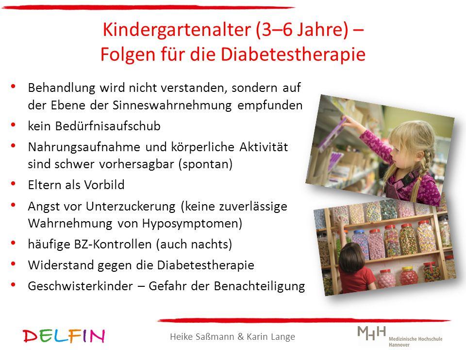 Kindergartenalter (3–6 Jahre) – Folgen für die Diabetestherapie