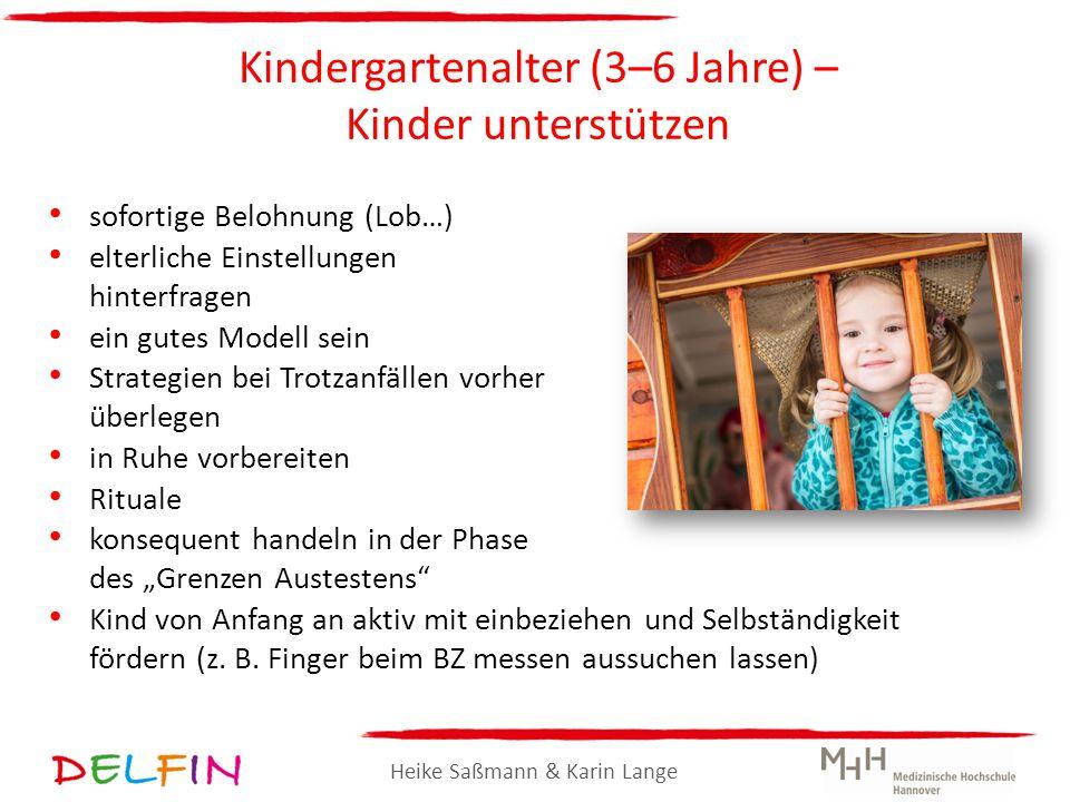 Kindergartenalter (3–6 Jahre) – Kinder unterstützen