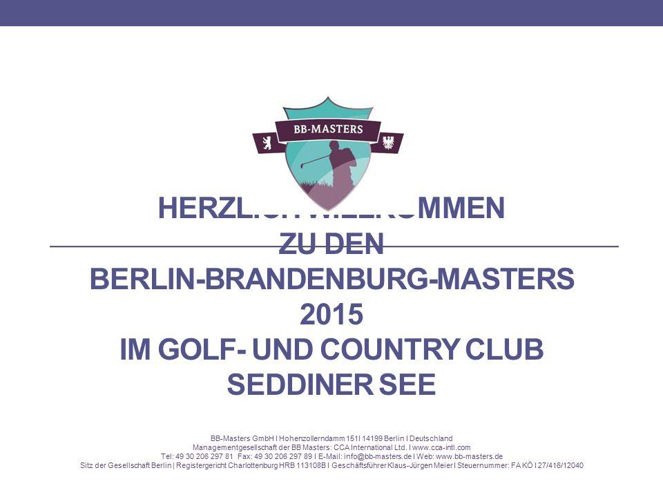 BB-Masters GmbH I Hohenzollerndamm 151I 14199 Berlin I Deutschland