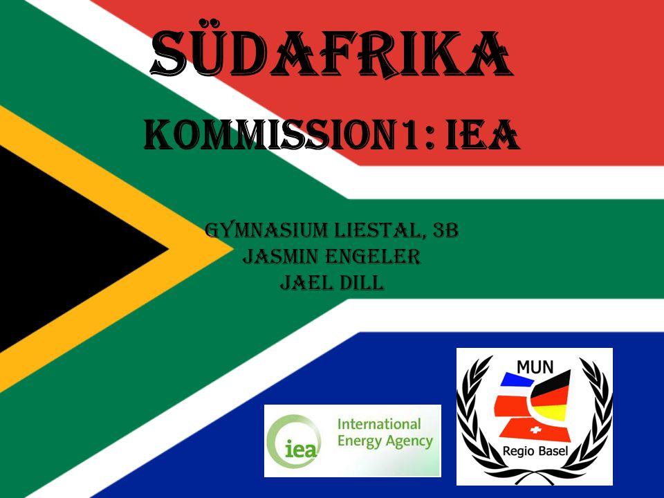 Südafrika Kommission1: IEA Gymnasium Liestal, 3B Jasmin Engeler