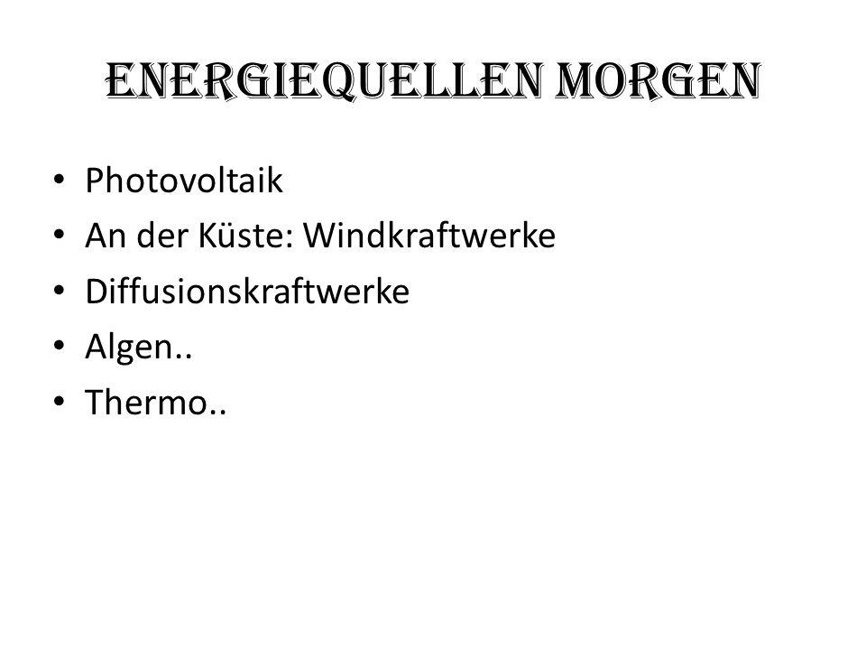 EnergieQuellen Morgen