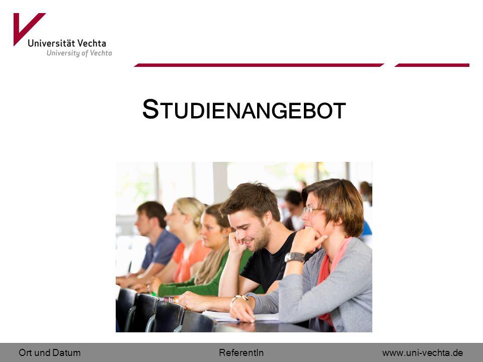 Studienangebot