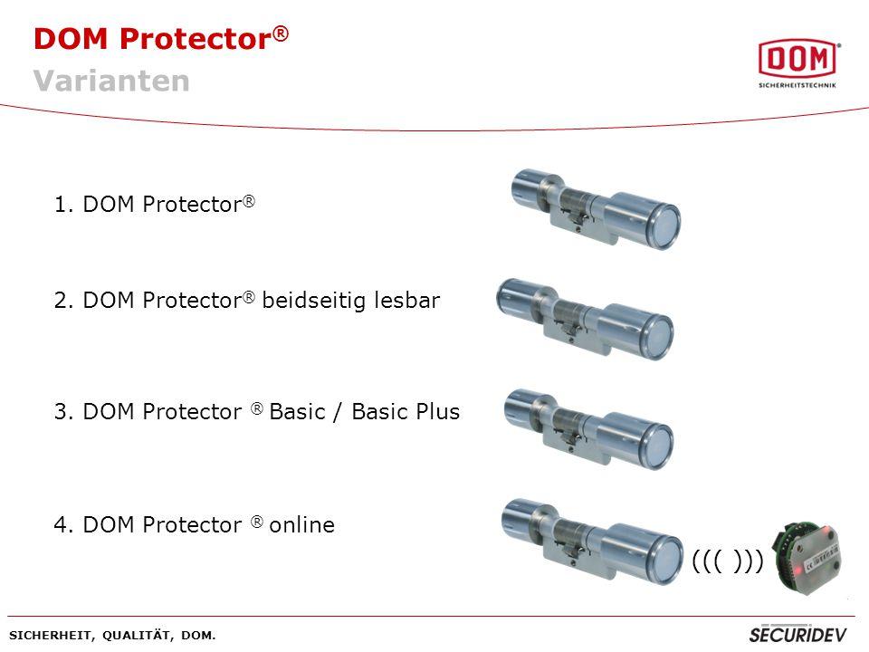 Varianten ((( ))) 1. DOM Protector®