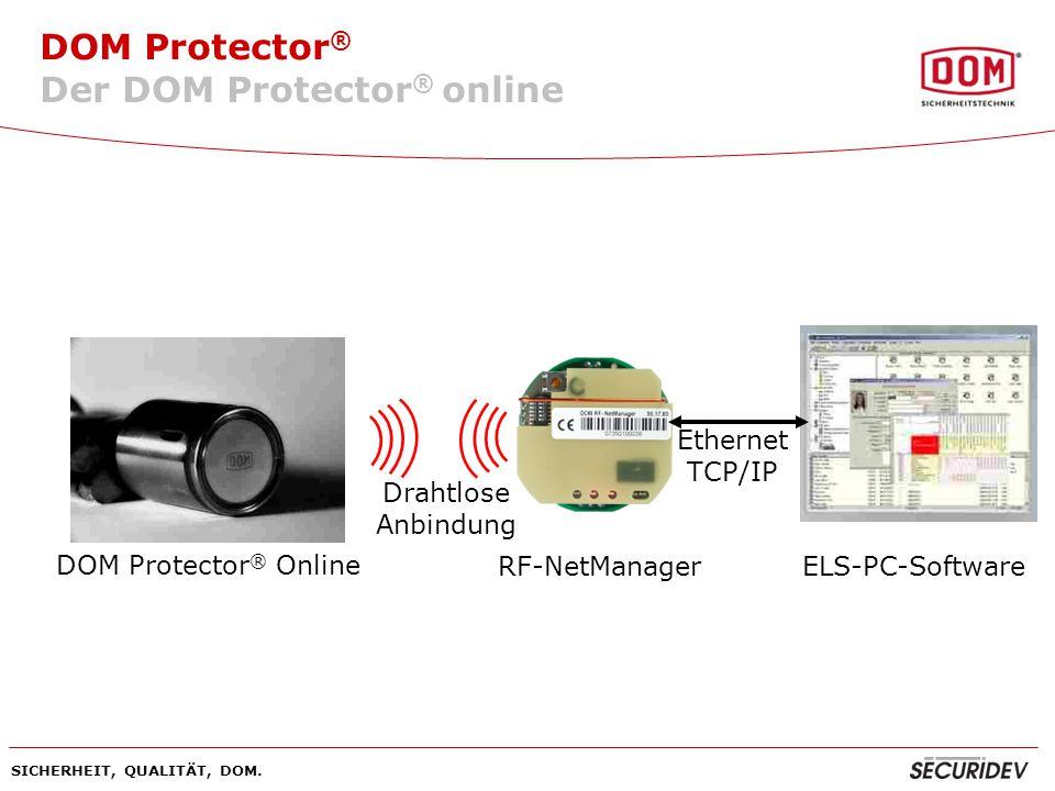 Der DOM Protector® online