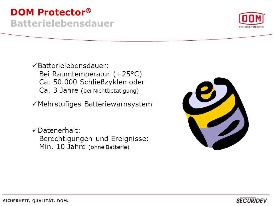 Batterielebensdauer