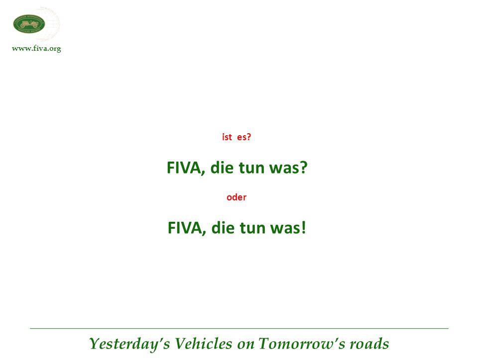 FIVA, die tun was FIVA, die tun was!