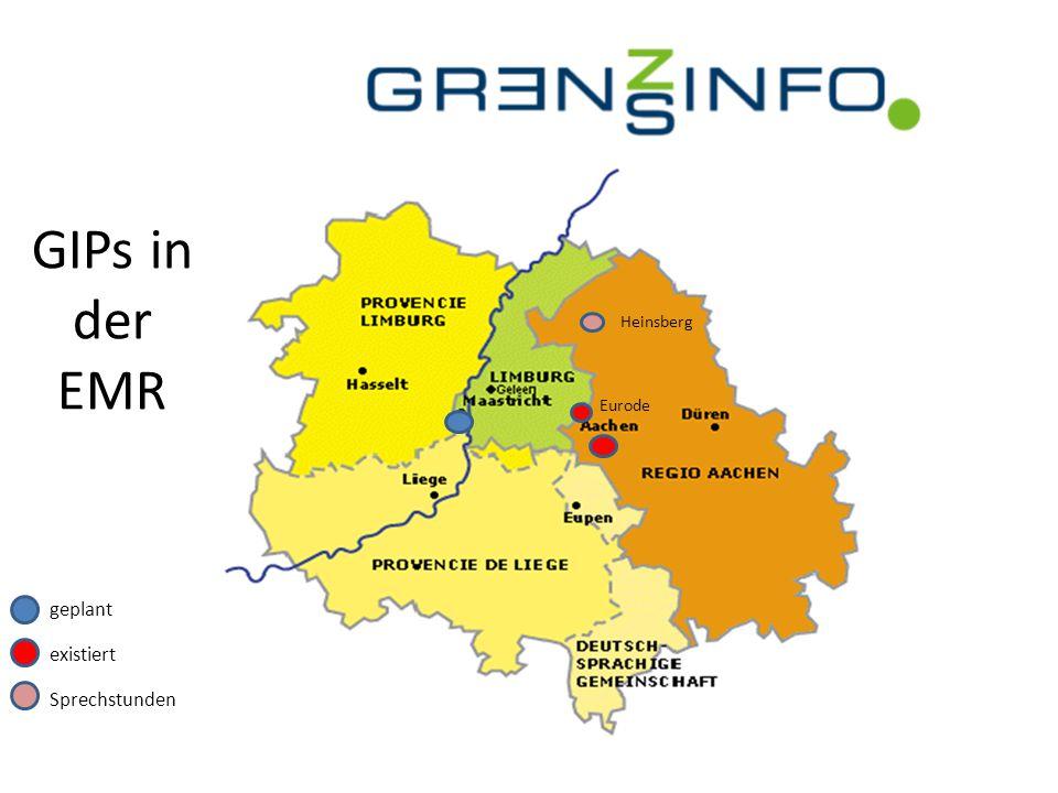 GIPs in der EMR Heinsberg Eurode geplant existiert Sprechstunden