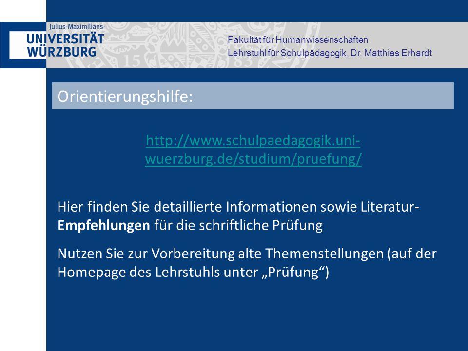 http://www.schulpaedagogik.uni- wuerzburg.de/studium/pruefung/