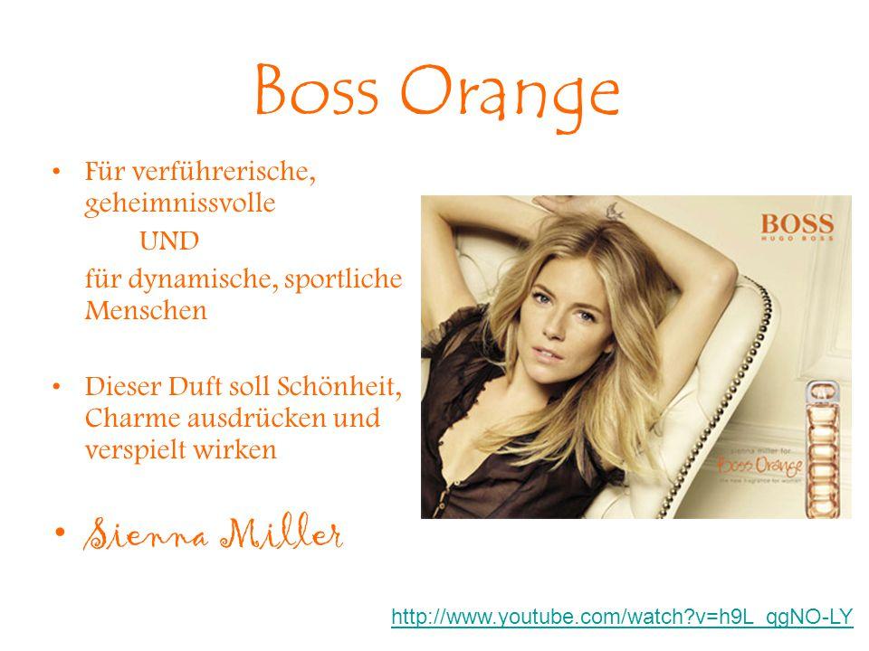 Boss Orange Sienna Miller Für verführerische, geheimnissvolle UND