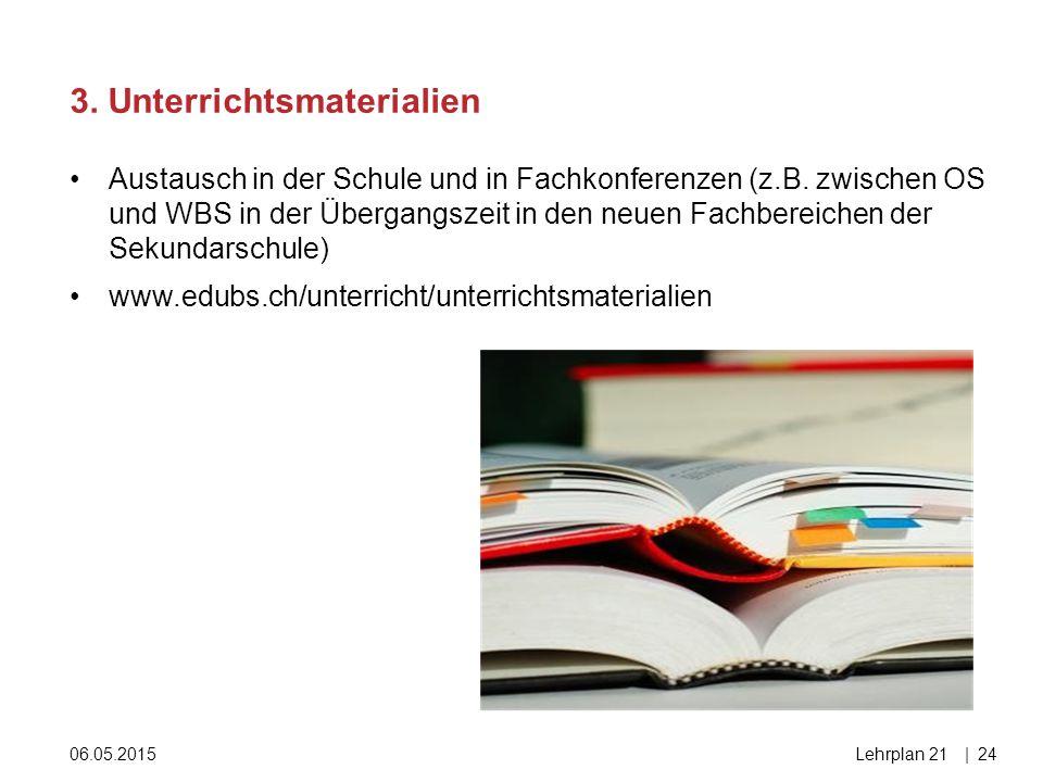 3. Unterrichtsmaterialien