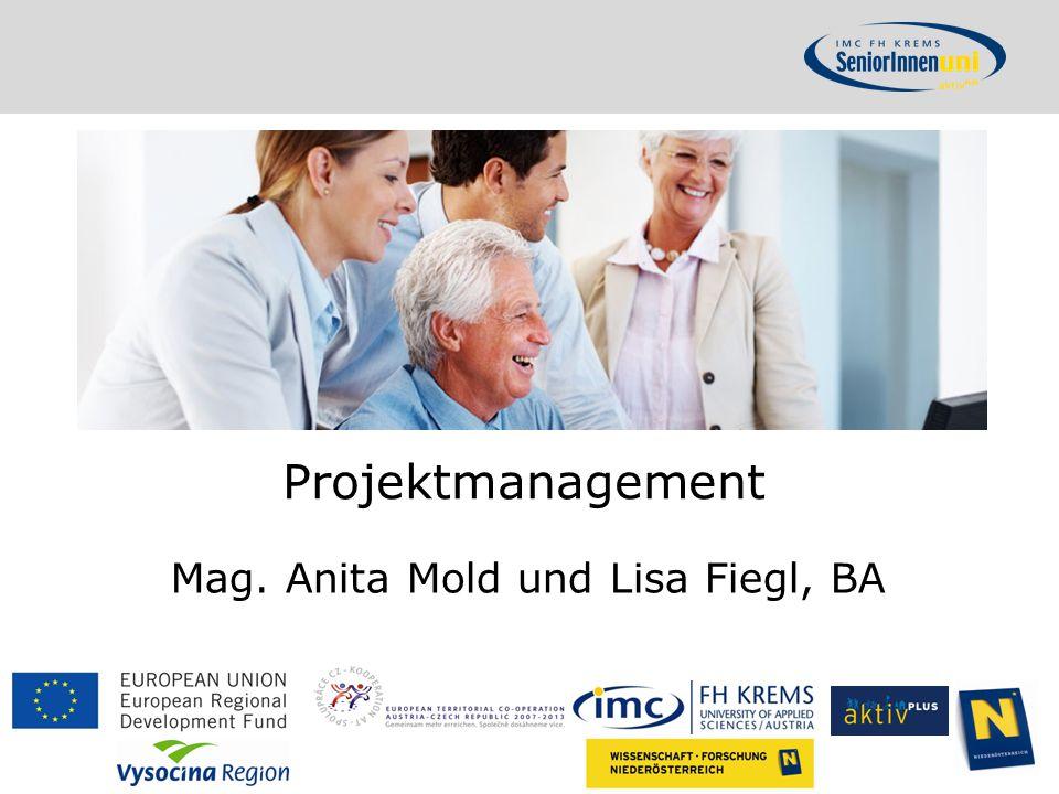 Mag. Anita Mold und Lisa Fiegl, BA