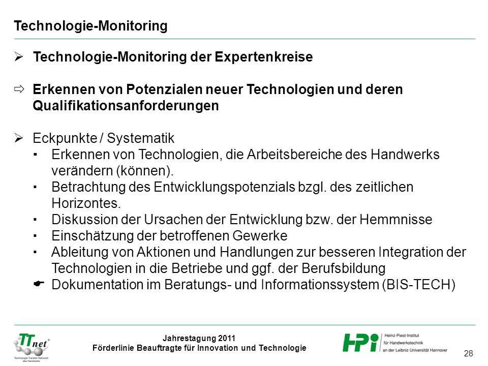 Technologie-Monitoring