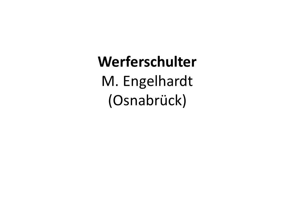 Werferschulter M. Engelhardt (Osnabrück)