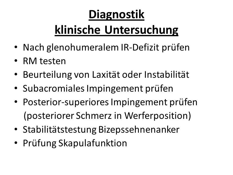 Diagnostik klinische Untersuchung